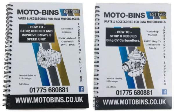 Carburettor & Gearbox Manuals