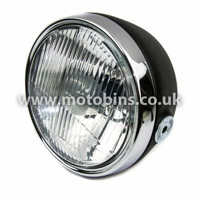 Complete headlight ( Continental right hand dip )