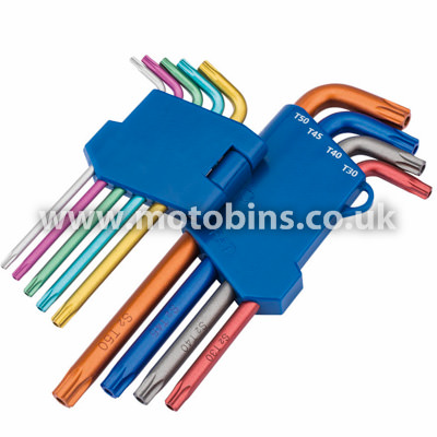 TX-STAR SECURITY KEY SET (Coloured)