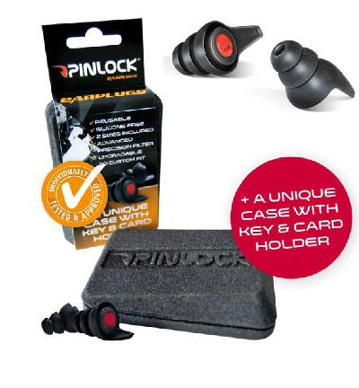 Pinlock Ear-Plugs & Case